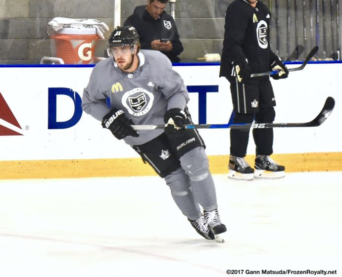Kopitar Stevens Talk Offense Defense Ahead Of La Kings 2017 18