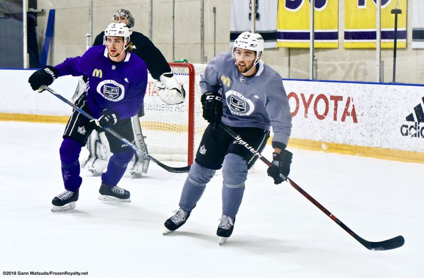 c53e2c8a466 Watching Instead of Playing Has Worked Wonders For LA Kings Alex Iafallo