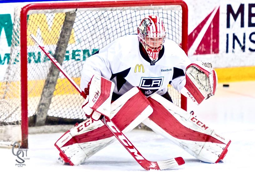 "5ce80c504 LA Kings 2017 3rd Round Draft Pick G Matthew Villalta: ""I Was Expecting to  be a Later Round Pick"""