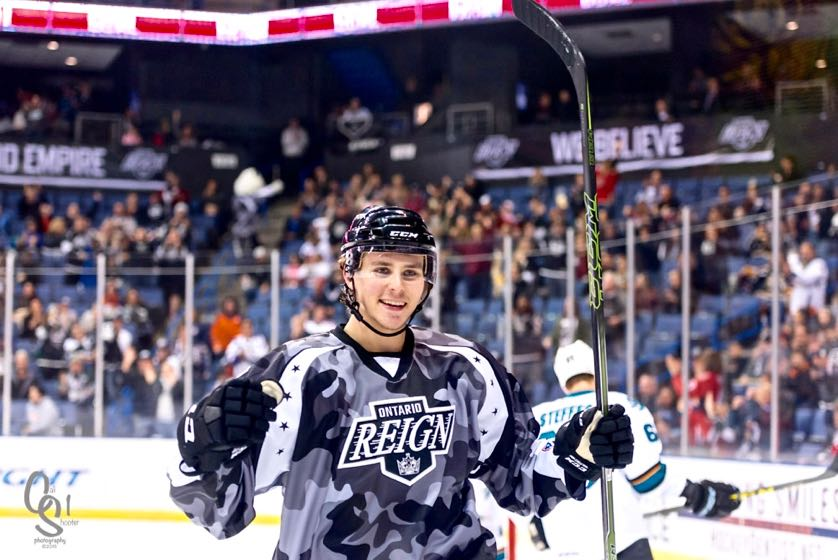 "brand new 3fea9 df23f LA Kings LW Prospect Adrian Kempe ""Has Some Juice To His Game"""