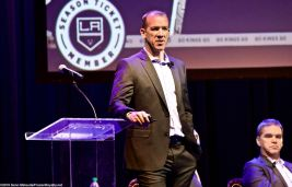 Los Angeles Kings Director of Player Development Glen Murray